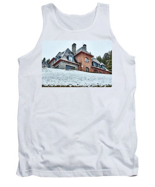 Tank Top featuring the photograph El Messidor Residence In Villa La Angostura by Eduardo Jose Accorinti