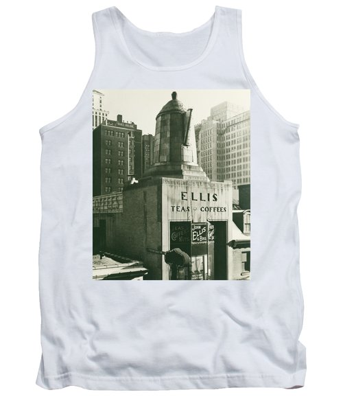 Ellis Tea And Coffee Store, 1945 Tank Top