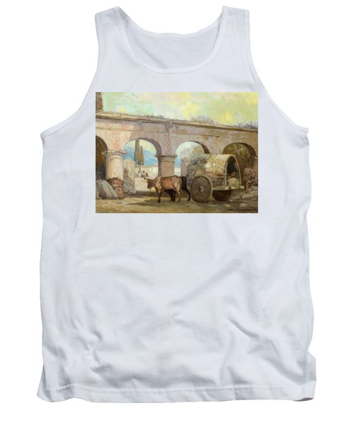 Entering The Plaza Tank Top