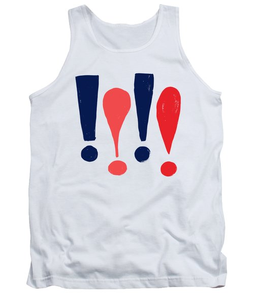 Exclamations Pop Art Tank Top