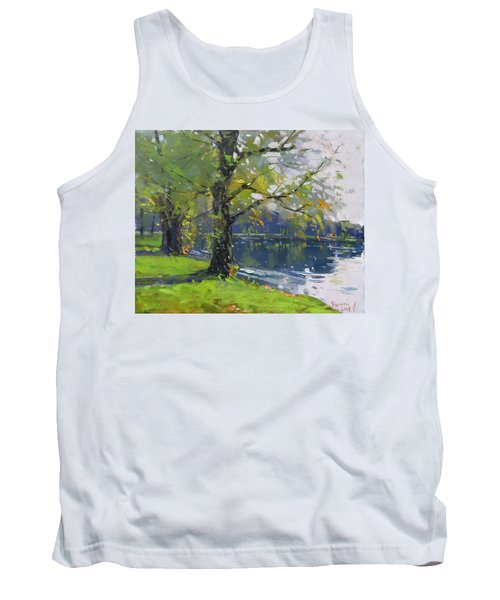 Fall At Bond Lake Park Tank Top