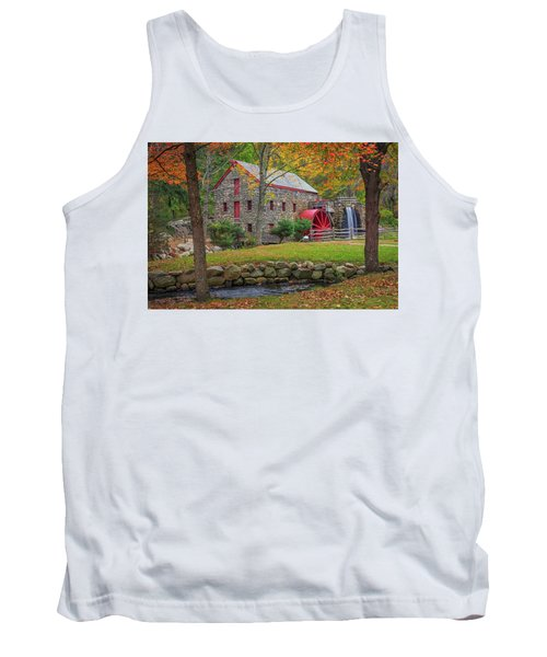 Fall Foliage At The Grist Mill Tank Top