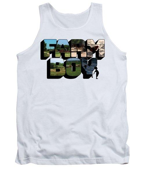 Farm Boy Big Letter 2  Tank Top