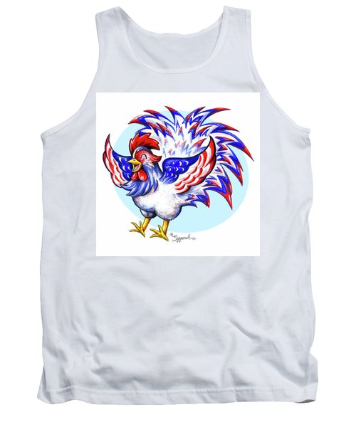 Feathery Fourth Tank Top