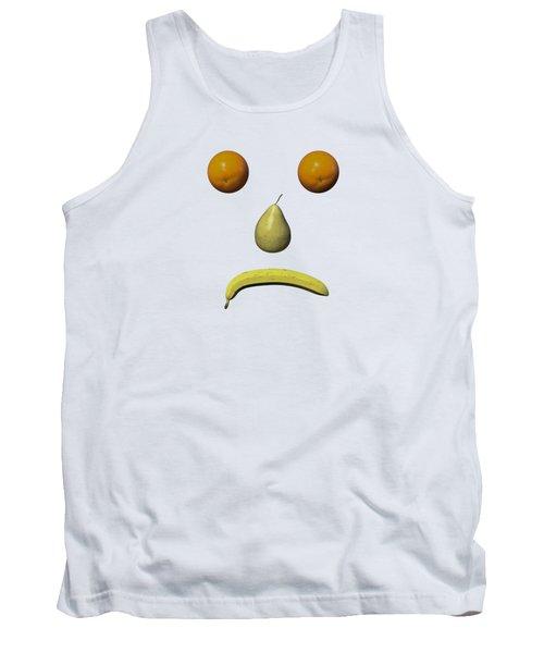 Feeling Fruity Frown Png Tank Top