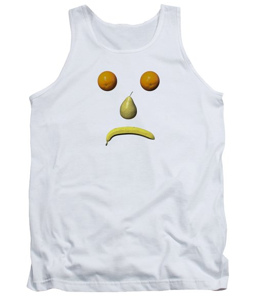 Feeling Fruity Frown Png Tank Top