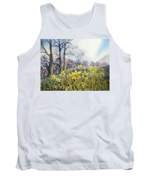 Field Of Hope At Burton Agnes Tank Top