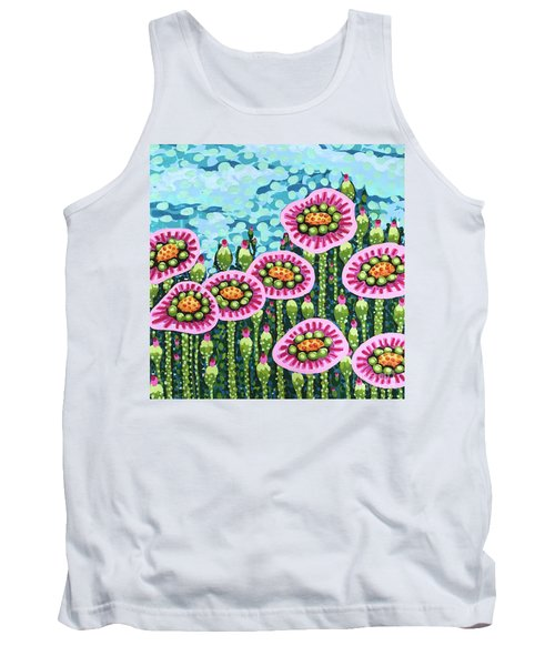 Floral Whimsy 8 Tank Top