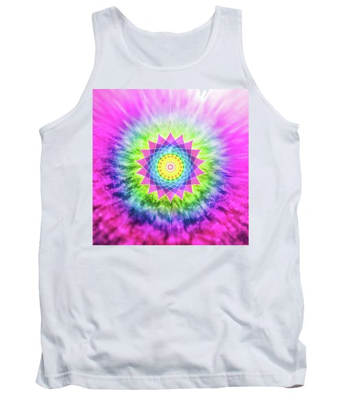 Flowering Mandala Tank Top