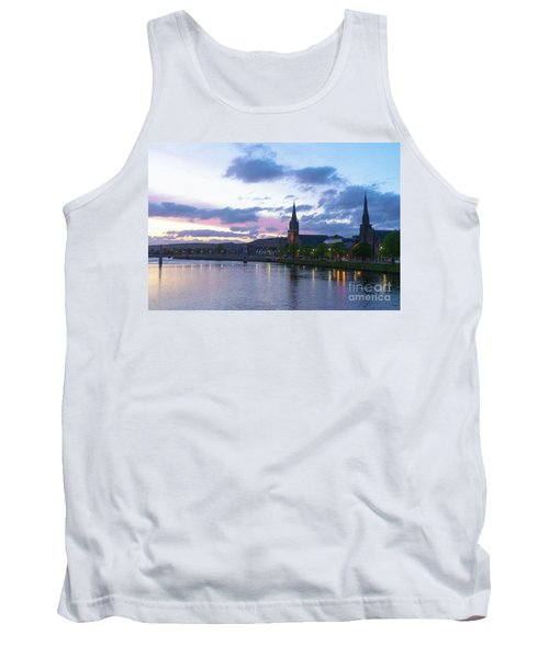 Flowing Down The River Ness Tank Top