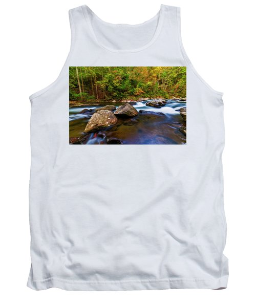 Tank Top featuring the photograph Flowing Waters by Andy Crawford