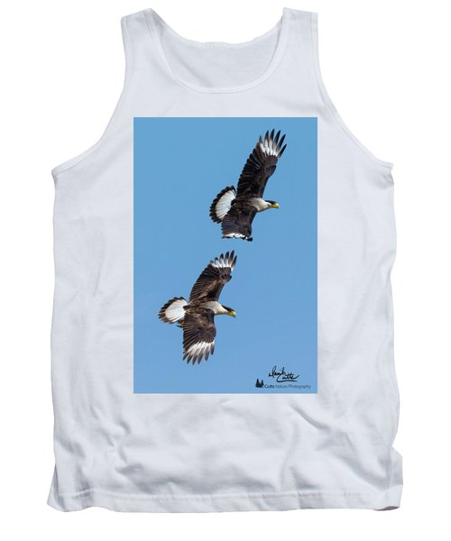 Flying Caracaras Tank Top