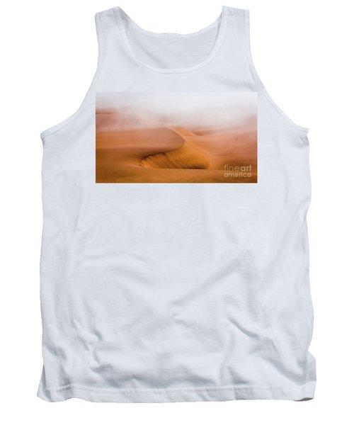 Foggy Namib Desert Tank Top