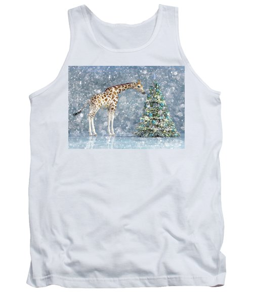 Friendly Giraffe Holidays Tank Top