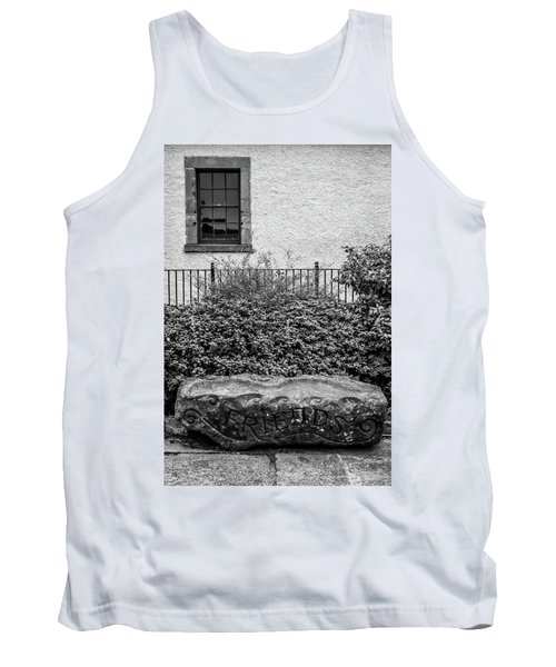 Friends Are Like Windows Through Which You See Out Into The World And Back Into Yourself Tank Top