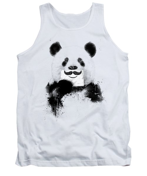 Funny Panda Tank Top