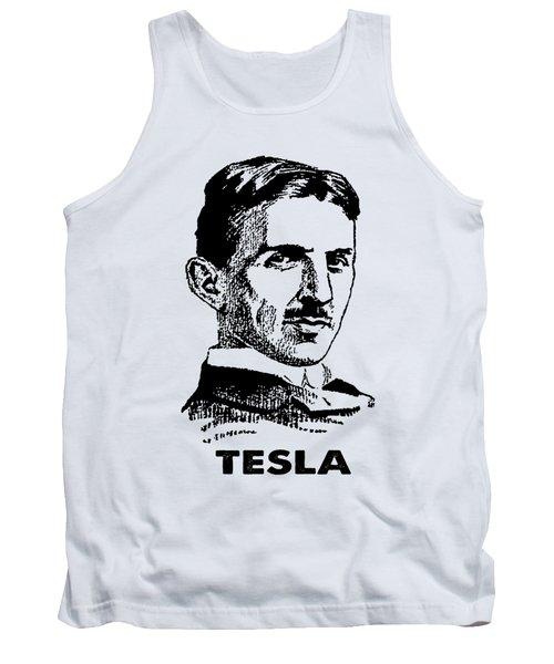 Genius Nikola Tesla T-shirt Tank Top
