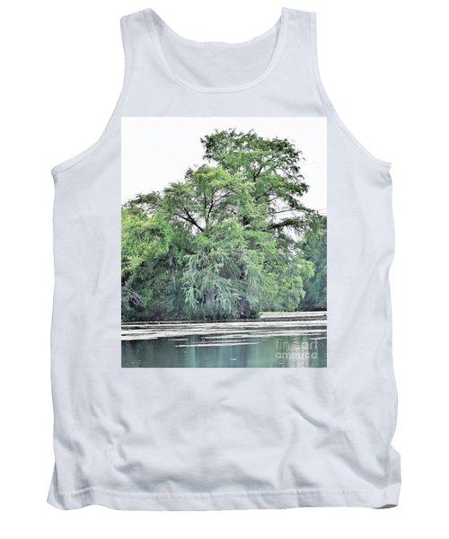 Giant River Tree Tank Top