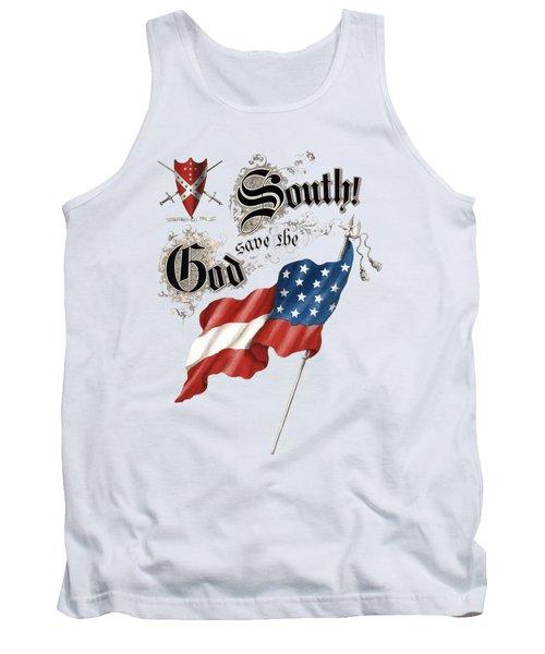 God Save The South 1863 - Civil War - T-shirt Tank Top