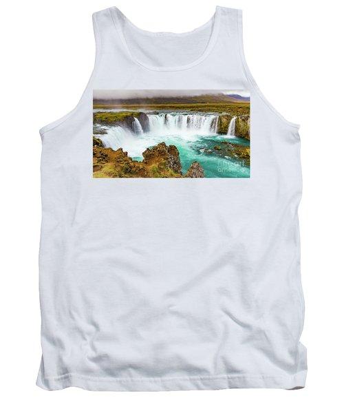 Godafoss Waterfall, Iceland Tank Top