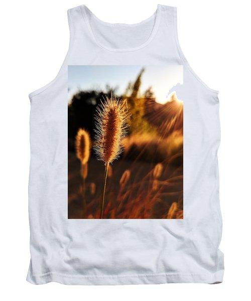 Golden Wildgrass Tank Top
