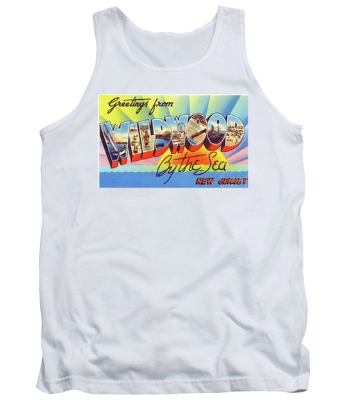 Wildwood Greetings - Version 1 Tank Top