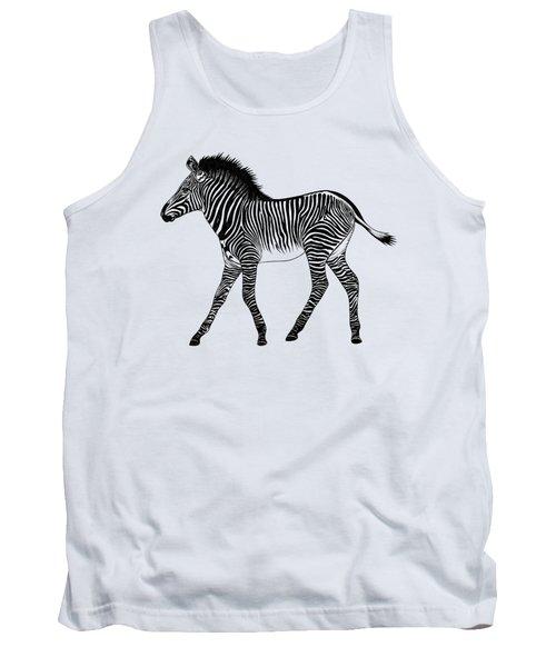 Grevy's Zebra Foal Tank Top