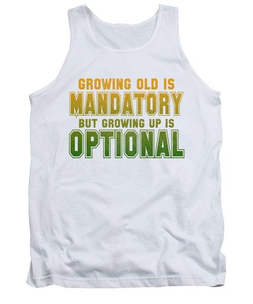 Growing Up Tank Top