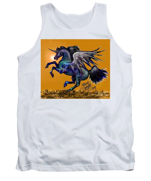 Halloween Fantasy Horse Tank Top