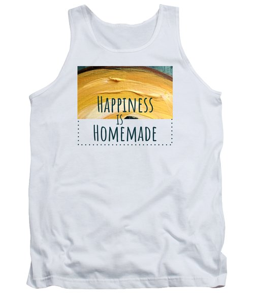 Tank Top featuring the painting Happiness Is Homemade #2 by Maria Langgle