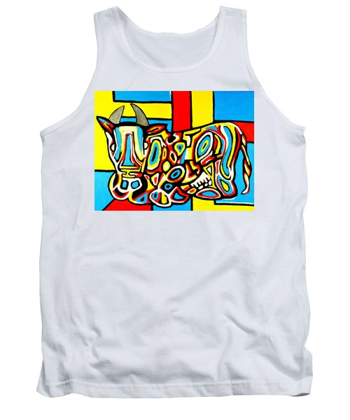 Haring's Cow Tank Top