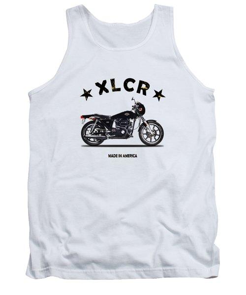Harley Davidson Xlcr 1977 Tank Top
