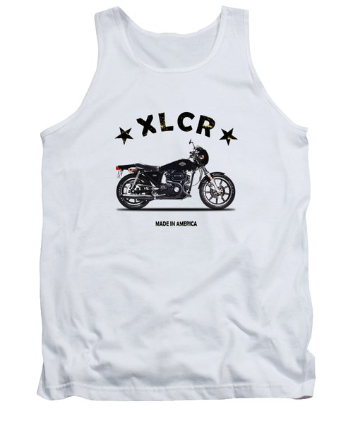 Harley Davidson Xlcr 1978 Tank Top