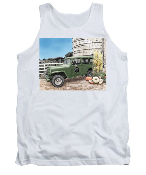 Harvest At Magnolia Tank Top