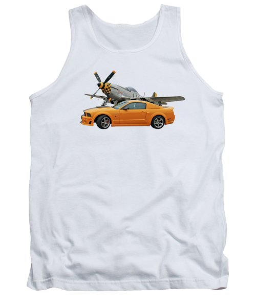 High Flyers - Mustang And P51 Tank Top
