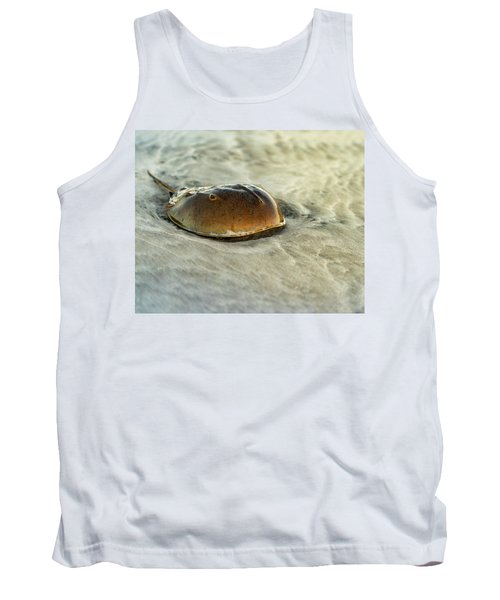 Horseshoe Crab On The Beach Tank Top