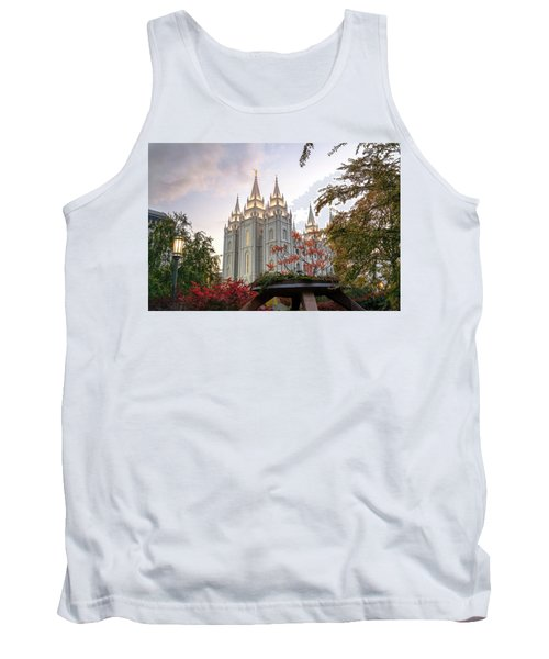 Tank Top featuring the photograph House Of The Lord by Dustin  LeFevre