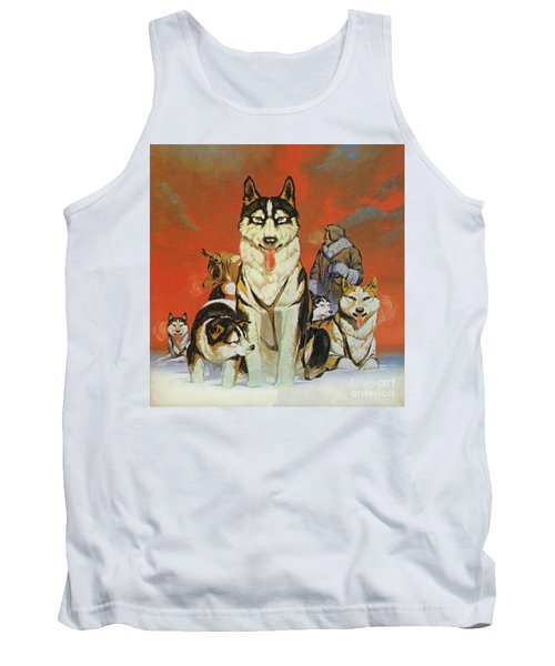 Huskies Tank Top