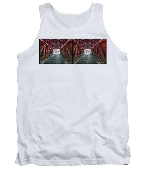 I Got You Covered 3d Stereo Xview Tank Top