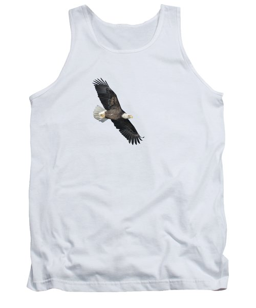 Isolated Bald Eagle 2018-2 Tank Top