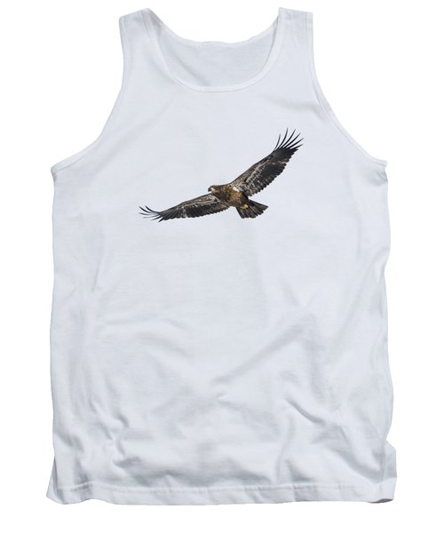 Isolated Bald Eagle 2018-3 Tank Top