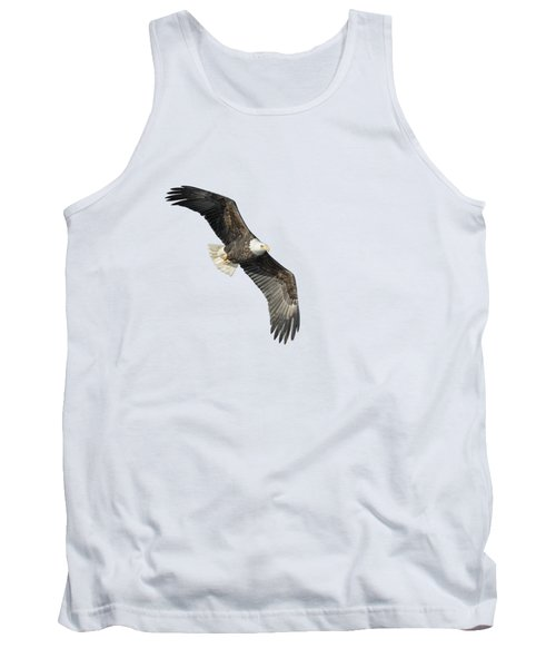 Isolated Bald Eagle 2018-4 Tank Top