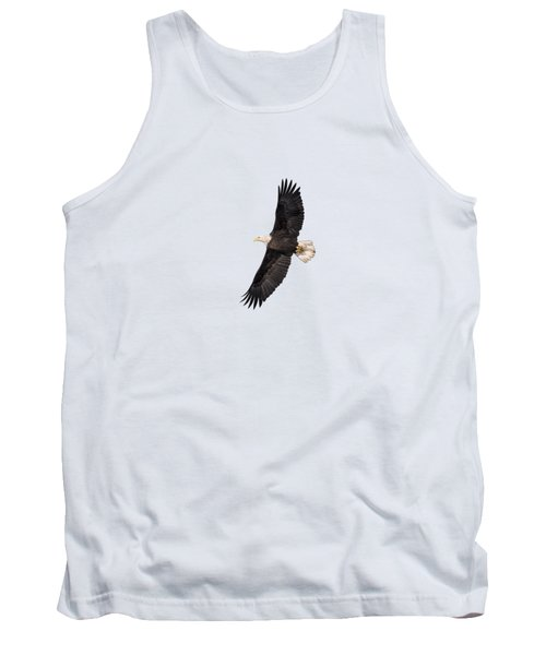 Isolated Bald Eagle 2018-5 Tank Top