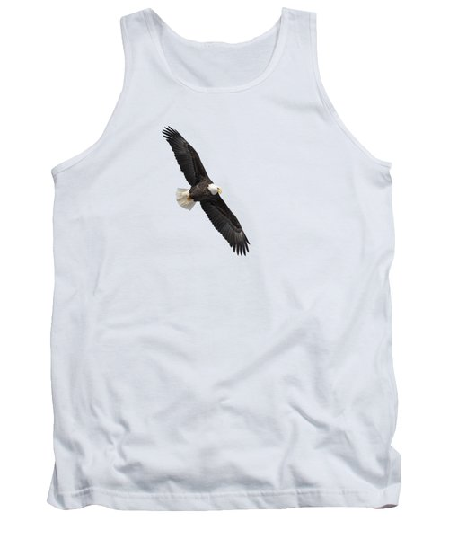 Isolated Bald Eagle 2019-1 Tank Top