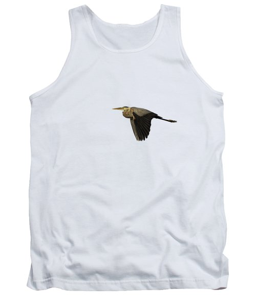 Isolated Great Blue Heron 2019-2 Tank Top