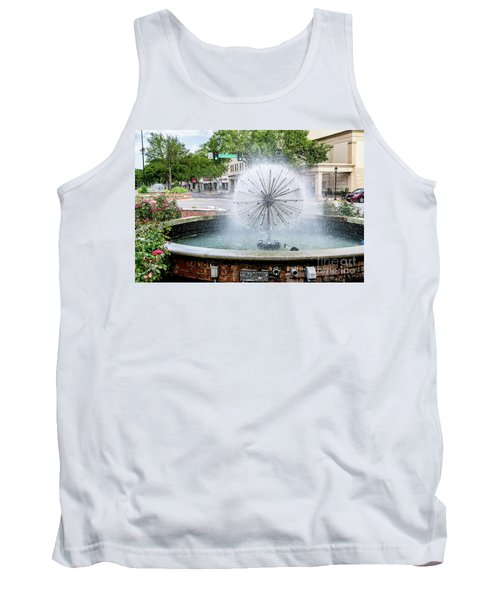 James Brown Blvd Fountain - Augusta Ga Tank Top