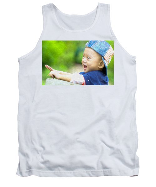 Tank Top featuring the painting Joeseph by Harry Warrick