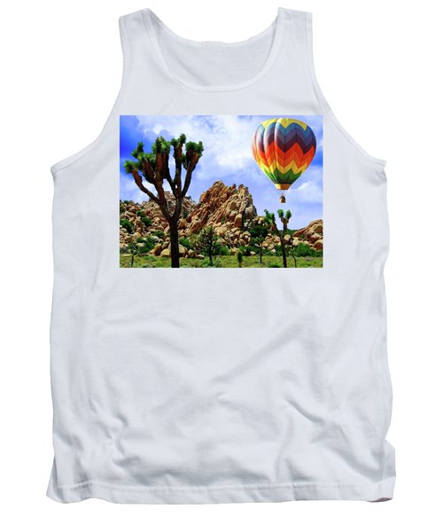 Tank Top featuring the digital art Park It Here. by Gary Baird