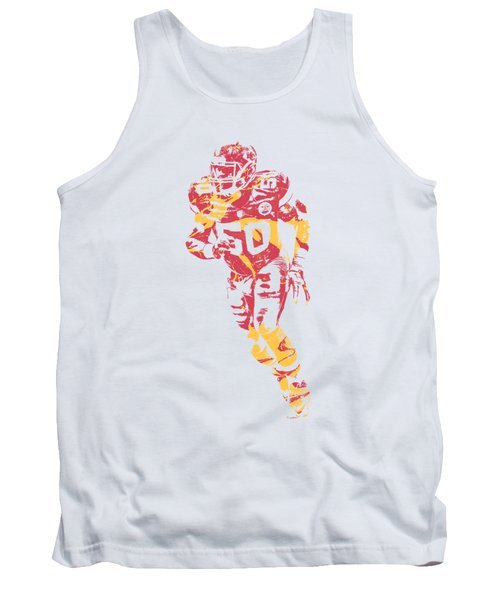 Justin Houston Kansas City Chiefs Apparel T Shirt Pixel Art 2 Tank Top