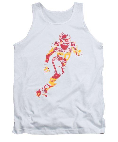 Justin Houston Kansas City Chiefs Apparel T Shirt Pixel Art 3 Tank Top